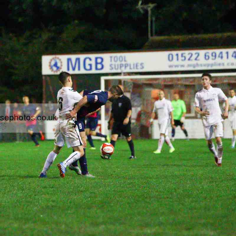 First Team v Lincoln United - 25th August 2015