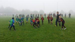 Bournville beat the fog and Chaddersley Corbett