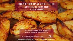 Carvery Sunday @ Avery Fields