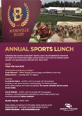 Annual Sports Lunch