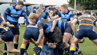 Liverpool Collegiate 1st XV vs West Leeds (A) RFU National Vase Q-Final - 14th March 2015