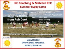 *** Summer Rugby Camp ***