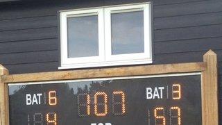 Good Win for East Herts U10s v North Herts U10s at Cricketfield Lane