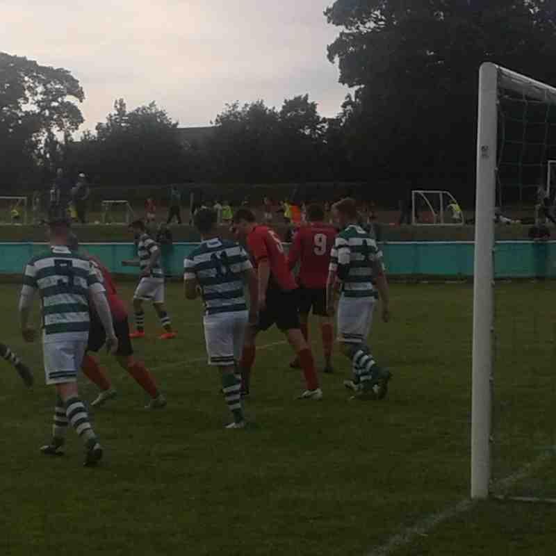 Brickfield Rangers v Corwen