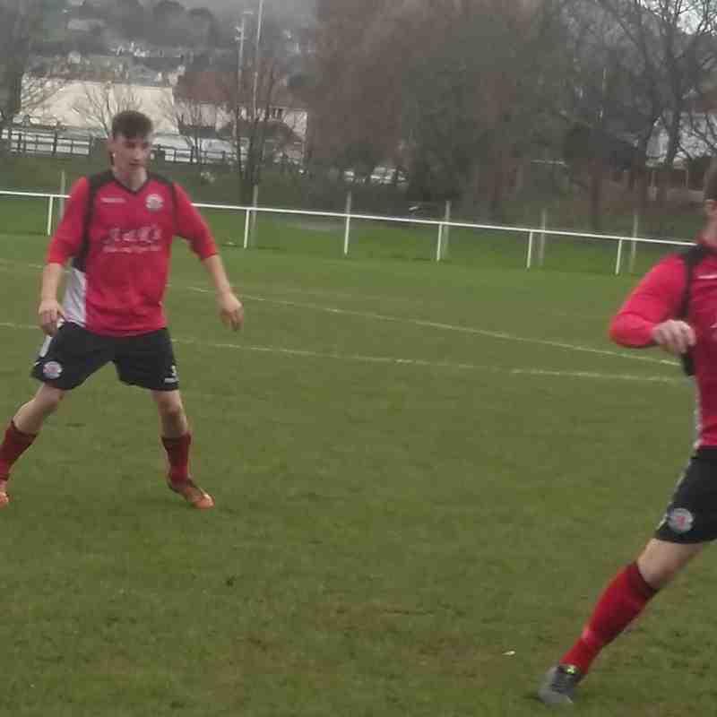 First Team v Llandudno Junction - 23rd January 2016