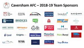 Caversham AFC 2018-19 Club Sponsors