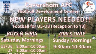 New players needed...........