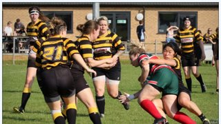 Lincoln Ladies XV 21  vs Derby Vipers 27 18/09/2016