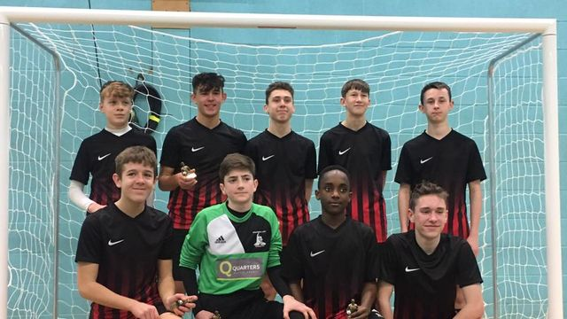 U14 Spartans Win MKBCYFL Futsal Tournament