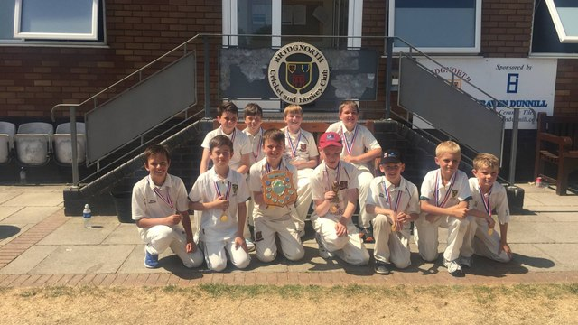 Under11's Win Shropshire County Cup