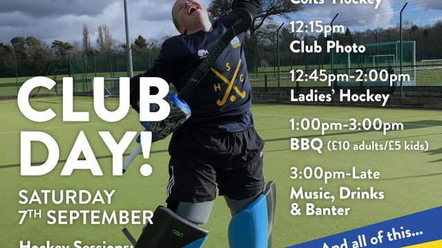 Sonning Hockey CLUB DAY!