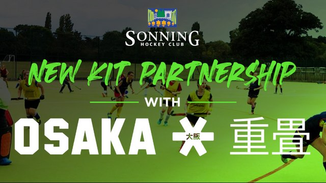 Sonning Hockey Club agree kit partnership with Osaka