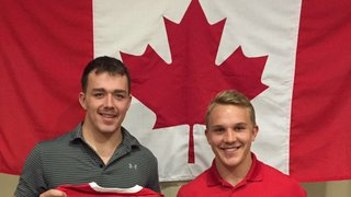 Canuck Ben LeSage performing strong for Canada 'A'!