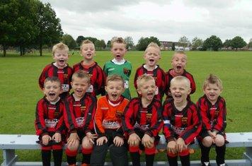 Denaby United Under 6's