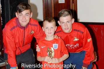 U6 Supporters Player Of The Year - Kyle Wosman