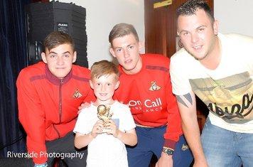 U5 Player Award Cody Mills