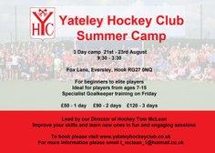 Summer Hockey Camp