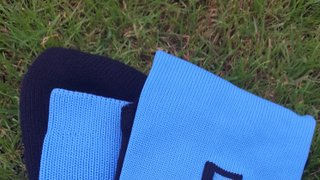 Club socks for ALL players, from Minis through to Seniors, are now IN STOCK locally