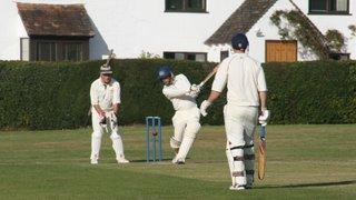 Pavilion opening Nuthurst cricket match