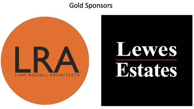 Liam Russel Architects  and Lewes Estates are our main Club Sponsors