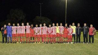 Senior Men First game - Berwick vs Warragul United