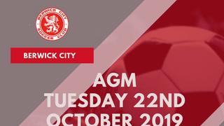 Berwick City FC AGM