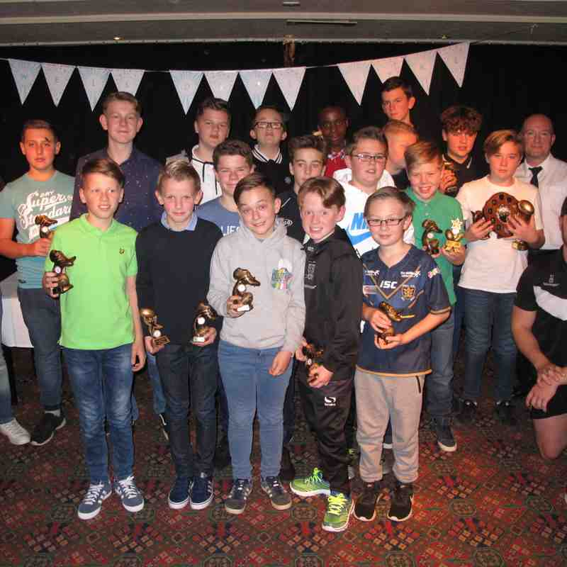 U12's Presentation Night 2016