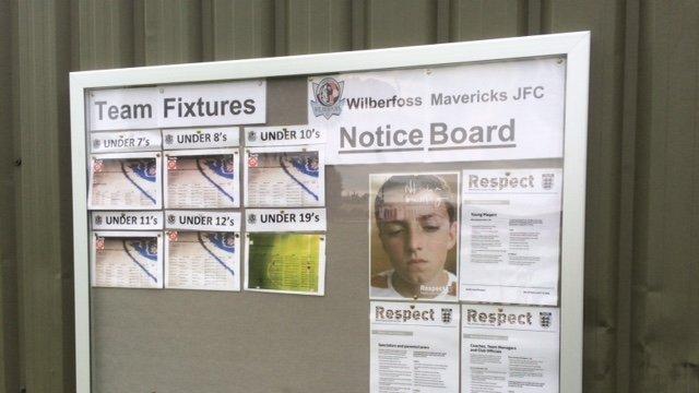 New Notice Board!
