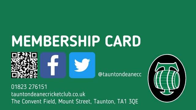 Coming soon: New Membership Card Scheme 2021