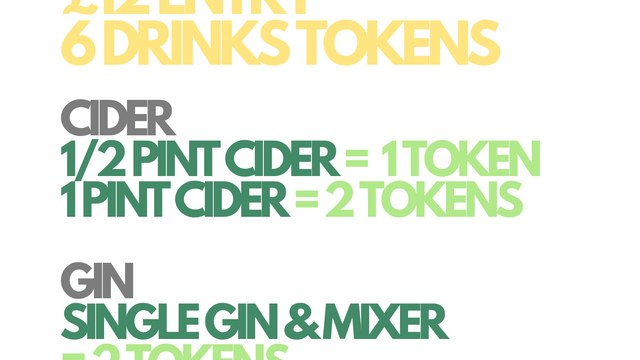 Cider and Gin Festival 2021 - This Saturday!!