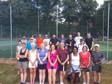 Charity Mixed doubles tournament 6May 11.30 - 4pm