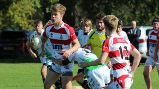 U15's - Rusty Wetherby run into York