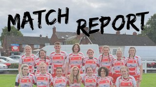 Wetherby women lose against tough opponents in first ever league game.