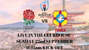 England vs Tonga Live
