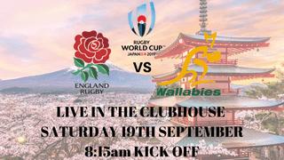 England vs Australia on the big screen