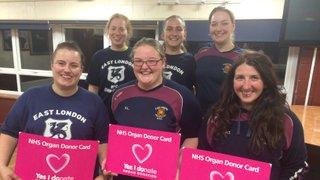Vixens Organ Donor Week 2018