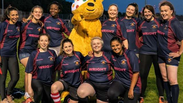 PUDSEY 'SIGNS' FOR EAST LONDON VIXENS