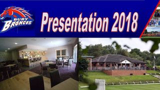 Presentation Evening 2018