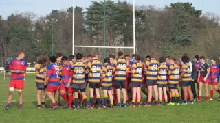 U16s v Olympique St Genis Laval - 7th March 2015