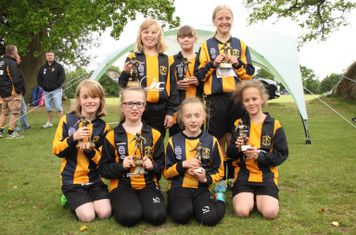 Well played Tornadoes!  Winners of the inaugral Douai Park U9 Girls Tournament