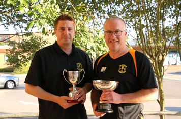 Our Coach and Manager of the Year: David Leno and Mark Papworth