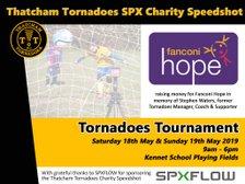 Speedshot raising money for Fanconi Hope at Tournament