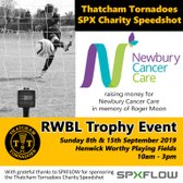 Thatcham Tornadoes SPX Speedshot at RWBL Trophy Event Week 1