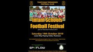 Infant Schools Football Festival - Saturday 19th October