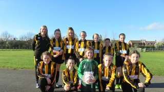 First ever competitive league match for U12 Girls Ambers