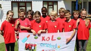 Fife Primary Schools Kwikcricket Final.