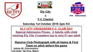 Ely City Crusaders Day