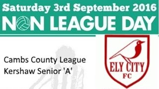 Ely City Reserves v Fulbourn Institute Reserves