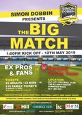 Charity Match taking place Sunday 12th May