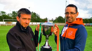 The Unwin Trophy kindly donated by Spotted in Ely